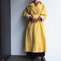 Yellow color Trench coat