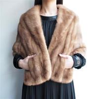 『EMBA』Made in USA  Mink cape /bolero