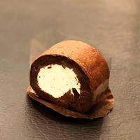 <糖質オフ>奇跡のショコラロール(ビター)  1/4サイズ