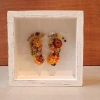 footprint flower  ガラスケースver