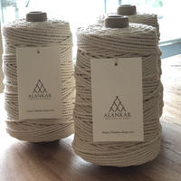 マクラメ糸 macramé コットンロープ 3mm(撚り糸)日本製