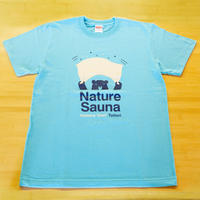 オリジナルTシャツ(アウフグースTシャツ)アクアブルー