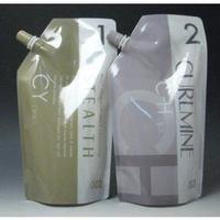 ナンバースリー ステルス CY 第1剤、2剤カールマインC-H(過酸化水素水) のセット