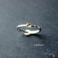 【tronc】sv925 peridot ring