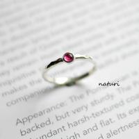 【tronc】sv925 ruby ring