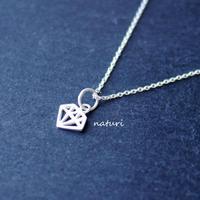 【diamante】sv925 diamond necklace