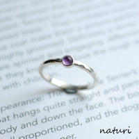 【tronc】sv925 amethyst ring