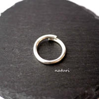 【luna】sv925 moon ring Ⅲ