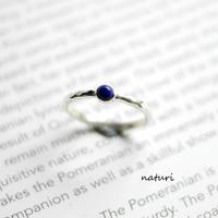 【tronc】sv925 lapis lazuli ring (order)