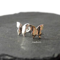 【papillon】sv925 butterfly pierce (2pcs)
