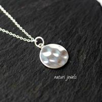 【luna】sv925 moon necklace
