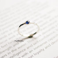 【tronc】sv925 sapphire ring (one-off)