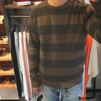 KILLER STRIPES CREW NECK KNIT