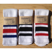 """OLD SCHOOL"" STRIPED TUBE SOCKS"