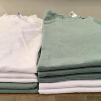 🇺🇸Los Angeles Apparel/ S/S Grmnt Dye Crew Neck 6.5oz