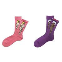 "ching & co. / ""裸婦&TOUGH"" Socks"