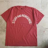 STUFF AND NONSENSE S/S Tee