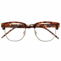 UluWatu Tiger 高級伊達メガネ べっ甲柄 レトロ メンズ レディース ユニセックス ファッション復刻デザイン ヴィンテージ 伊達眼鏡