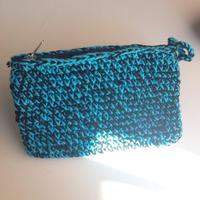 スランガン 手編みポーチ