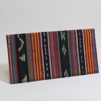 F555 財布(マラナオ族の布) 18.5 x 9.5cm