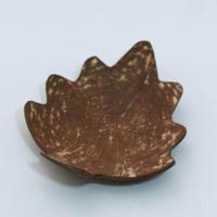 C702 ココナッツ 小皿 葉  直径14 x 高さ3.2 cm