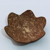 C700 ココナッツ 小皿 葉  直径13 x 高さ3.5 cm