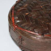 G028 アコブ(飯入れ) 直径12.2 x 高さ4.5 cm