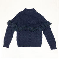 FISHERMANS FRINGE SWEATER