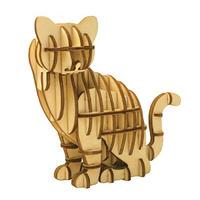 Wooden Art ki-gu-mi ネコ