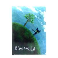 BlueWorld A4クリアファイル ちきゅうにやさしく