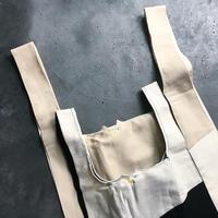 大人猫サイズ SAVE THE CAT BAG ゆるネコ バンザイおでかけバッグ  日本製100% 天然コットン 綾織り仕立てて