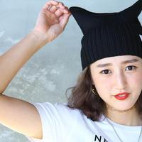 猫耳ニットキャップ KNIT CAT CAP