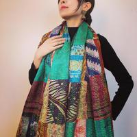 カンタ刺繍bip shawl B