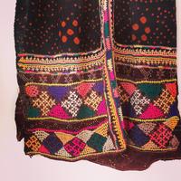 vintage rabari shawl ラバリ族大判ショール