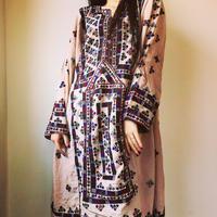 vintage baloch dress さくら色