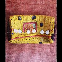 アフガン刺繍ミニショルダー