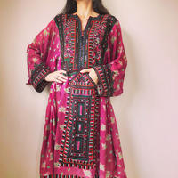 【お直し要】baloch dress summer pink