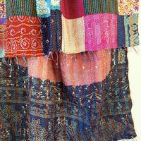 kantha silk shawl _c