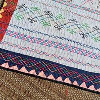 Kalbeliya Traditional Hand Embroidery Rug 🅰️