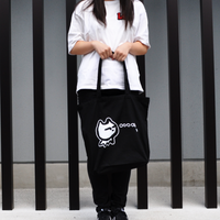 ★目つきの厳しいネコの帆布かばん★