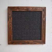 木と布の爪とぎ L  【黒】