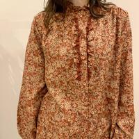 花柄blouse