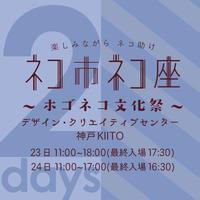 2DAYS 2月23日24日分 ネコ市ネコ座@KIITO 2019