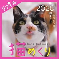 猫めくり2020リフィル(台座なし)