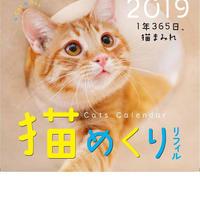 猫めくり2019リフィル(台座なし)