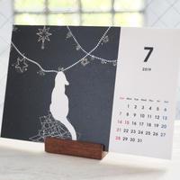 【4月始まり】 季節のねこ 卓上カレンダー