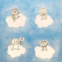 パステル原画(雲)