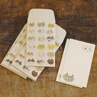 トラネコボンボン ぽち袋+カードセット M