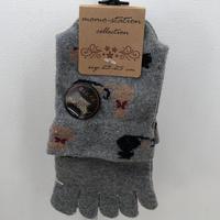靴下 │ momo-station collection ふたり猫