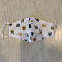 【チャリティ販売】mannineの生地を使った布マスク(キッズサイズ)